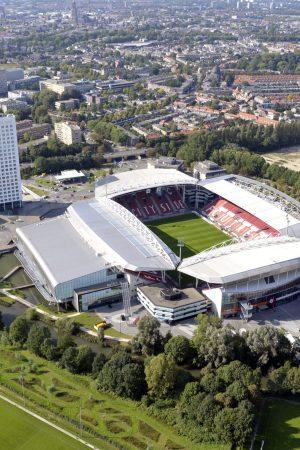 Luchtfoto Nolost Stadion Galgenwaard